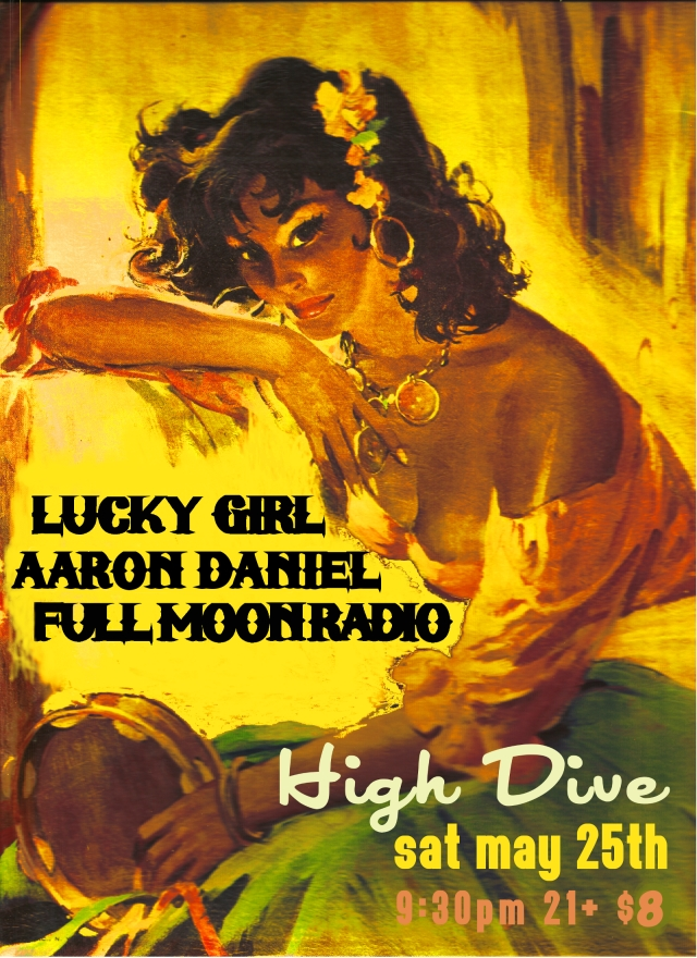 Saturday May 25th - Seattle show at High Dive